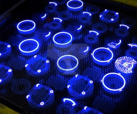 Light-curing resins: rapid prototyping